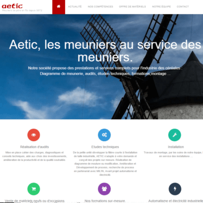 developpeur site vitrine