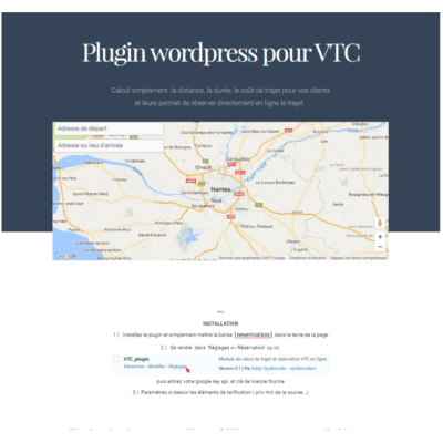 plugin wordpress VTC